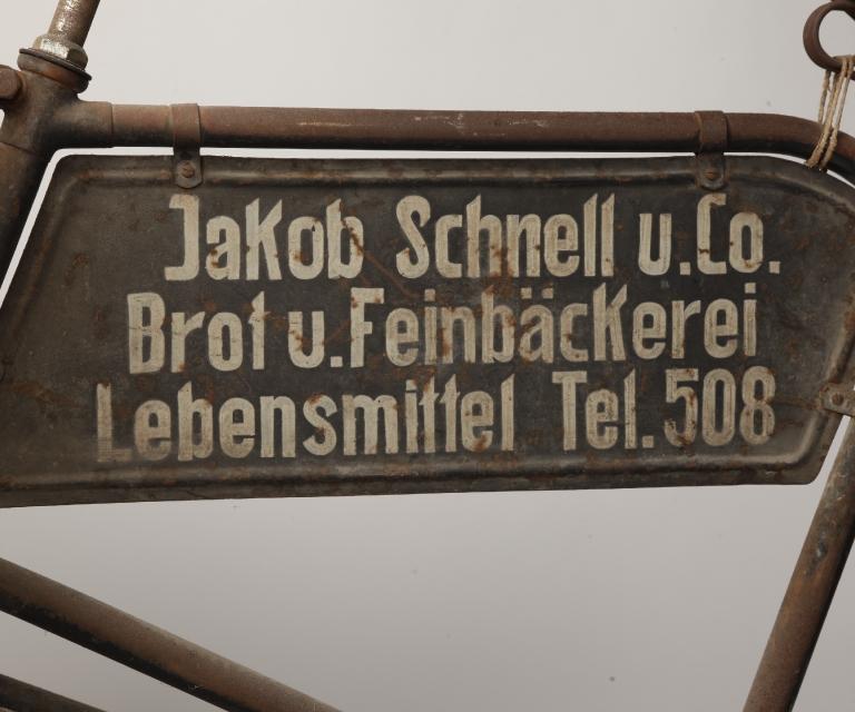 Jakob_Schnell_Schrift_Fahrrad
